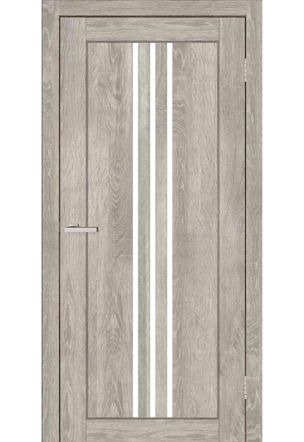 Купити Двері міжкімнатні DOORS Смарт С049G Дуб димчастий (екошпон), 600x2000