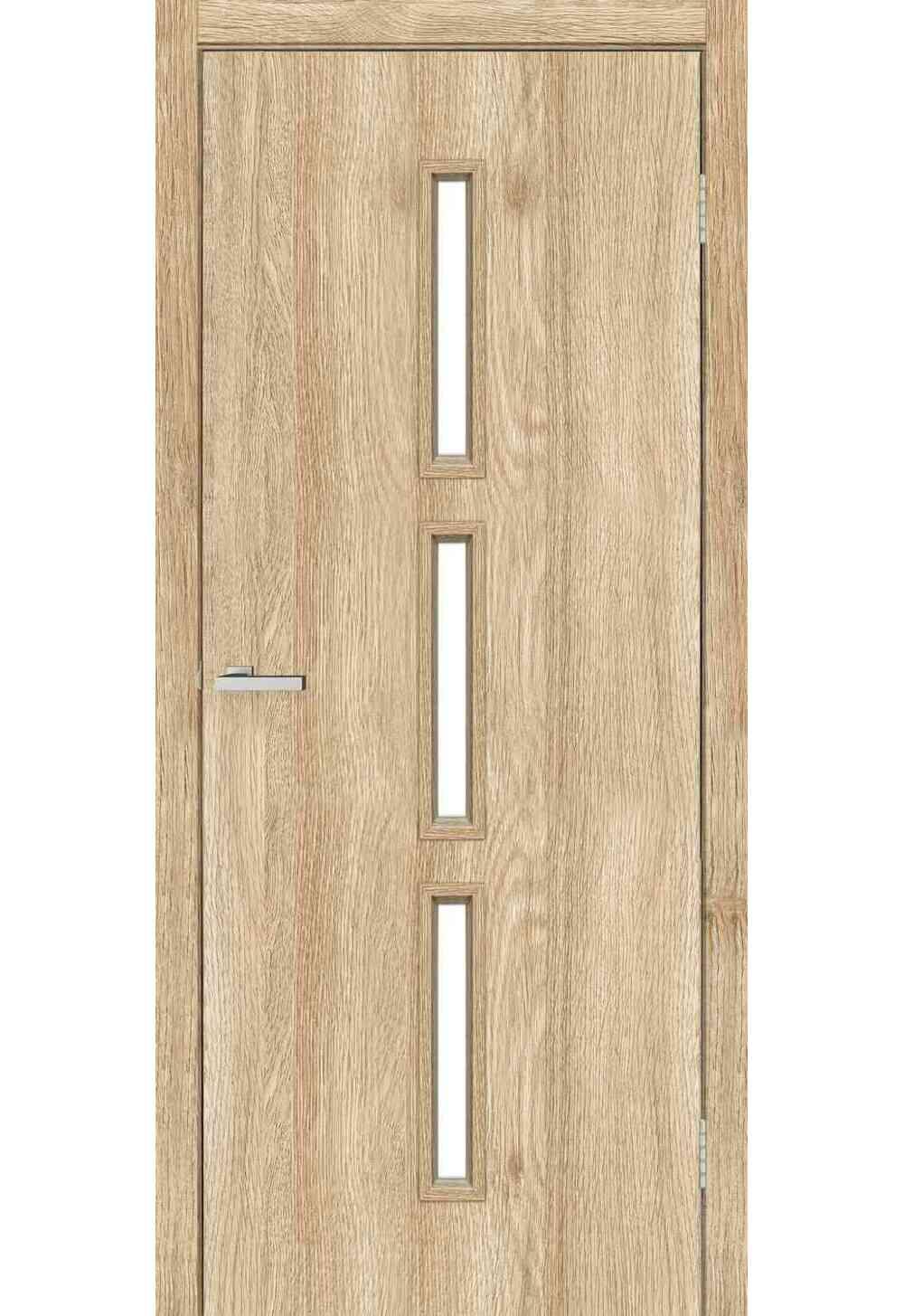 Купити Двері міжкімнатні OMiC Техно Т03 ПО (NL Дуб Саванна), 700x2000