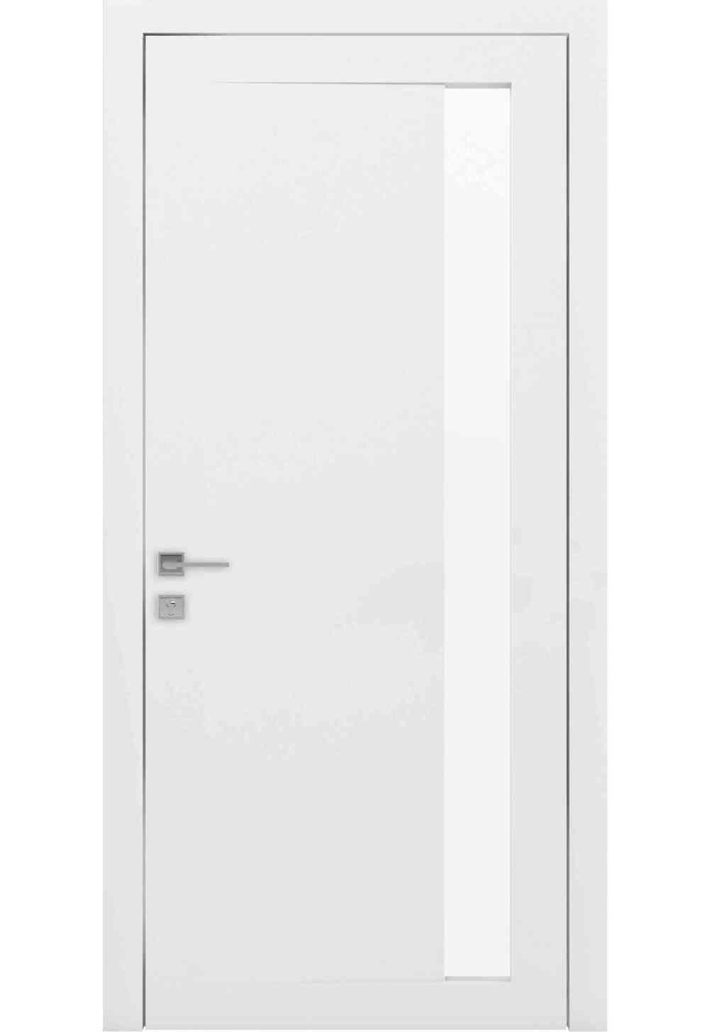 Купити Двері міжкімнатні RODOS LOFT ARRIGO півскло /Білий матовий/, 900x2000