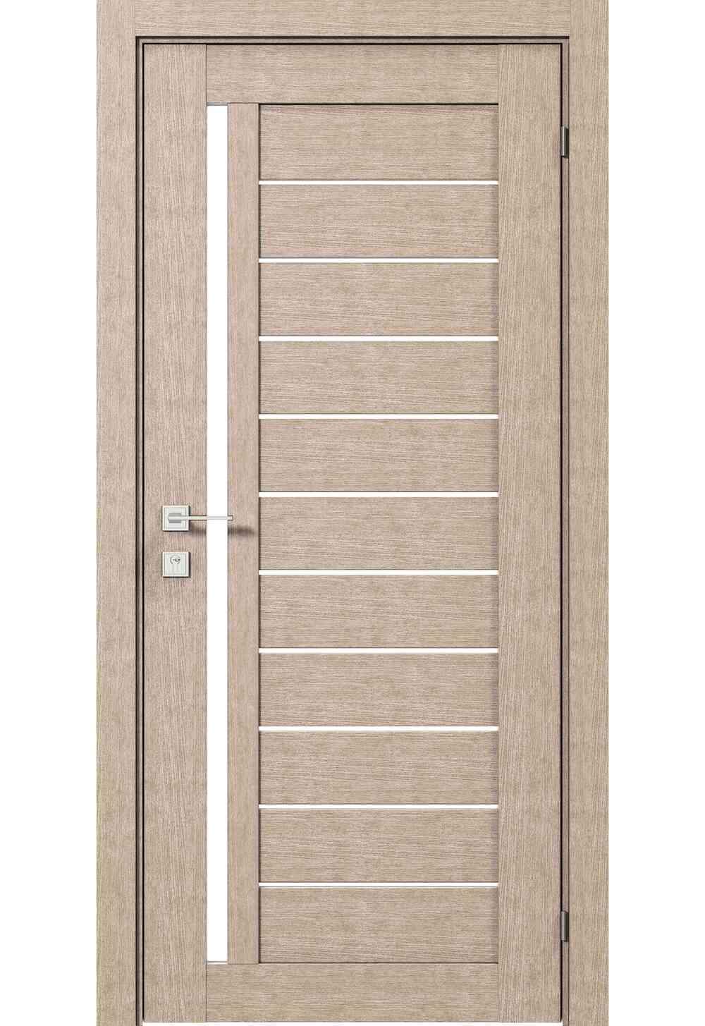 Купити Двері міжкімнатні RODOS MODERN Bianca півскло /Крем/, 600x2000