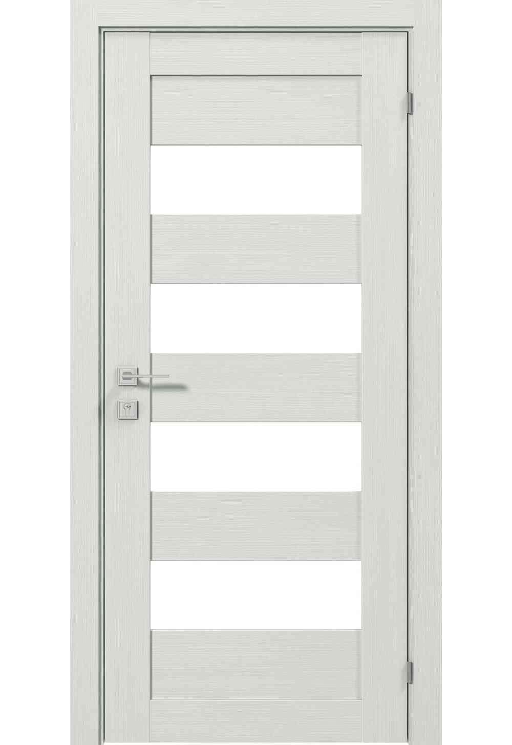 Купити Двері міжкімнатні RODOS MODERN Milano півскло /Акація темна/, 900x2000
